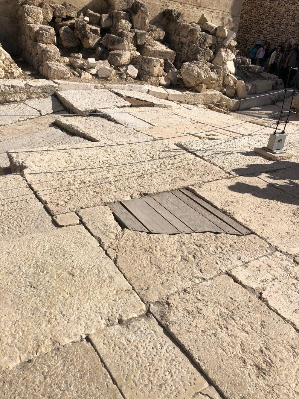 Herodian Street where Romans would stab hiding refugee Jews below .jpg